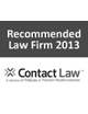 Contact Law Recommended Law Firm 2013